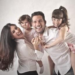 Foto de familia comparativa seguros de vida
