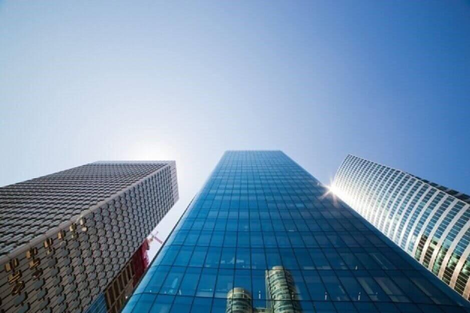 Edificios de oficinas gigantes de Compañías de Seguro de Vida en España